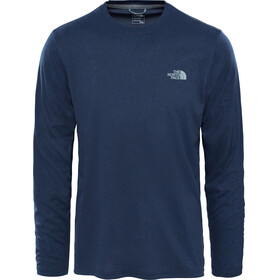 The North Face Reaxion Amp Crew Hardloopshirt lange mouwen blauw